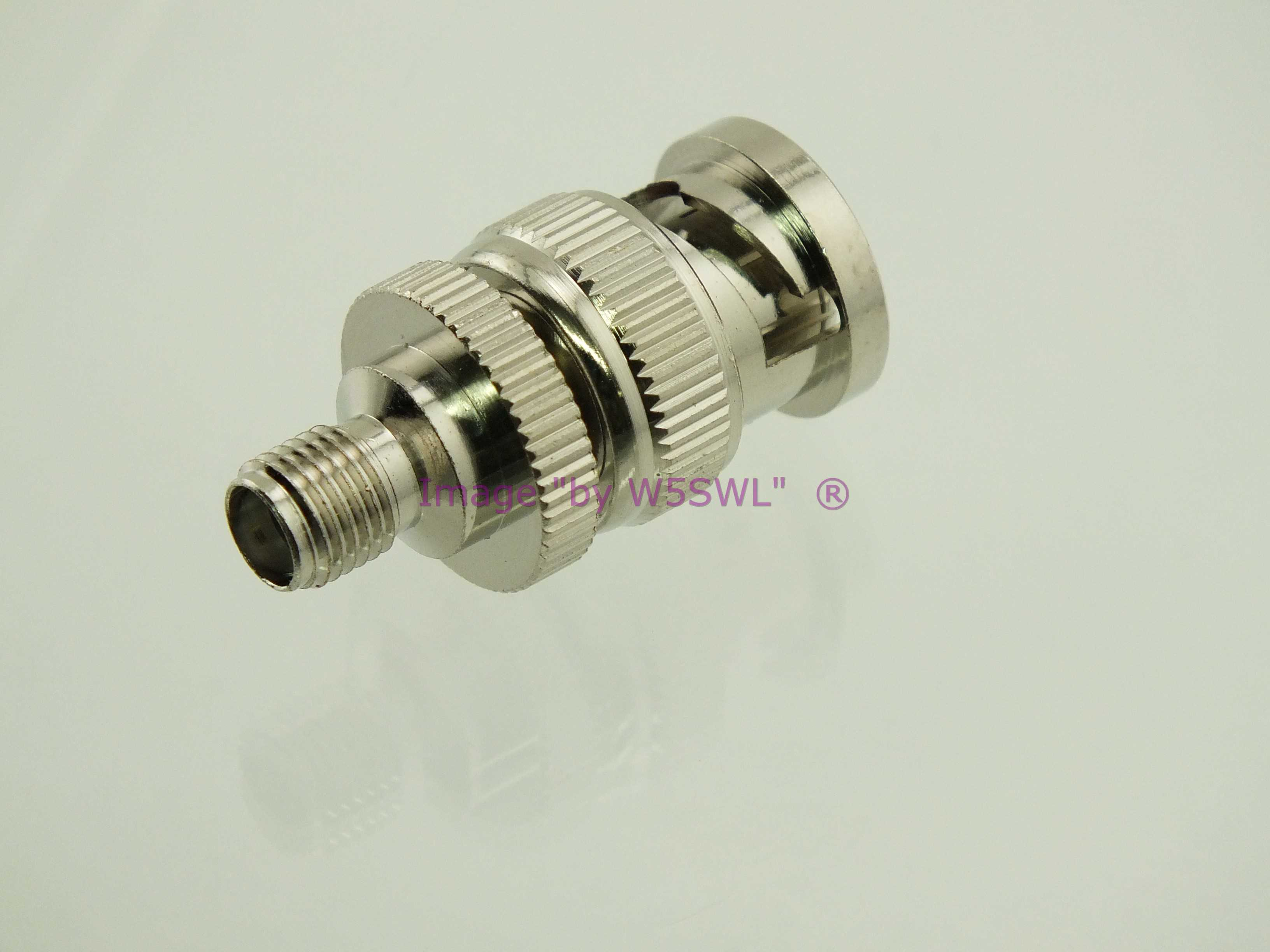 SMA Male to BNC Male Coax Adapter Connector by W5SWL ®