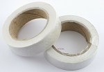 2 Rolls WHITE PVC Tape about 3/4