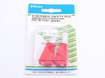 Philmore 28-1242 Stackable Safety Plug 4mm-Solder Type/Red-2Pk (bin41)