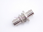Coax Adapter Amphenol 75 Ohm BNC Female to BNC Female Bulkhead