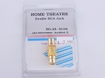 Philmore 45-311G Home Theatre Double RCA Jack (bin61)
