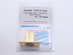 Philmore 45-696G Home Theatre Chassis Mount  Male 3 Pin Microphone Connector (Bin61)
