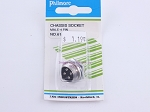 Philmore 61-624 Chassis Socket Male-4 Pin (bin107)