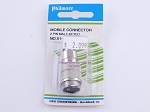 Philmore 61-632 Mobile Connector 2 Pin Male-Keyed (bin107)