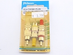 Philmore 70-137 RCA Phono Plug Shielded-Red/White/Yellow (bin29)