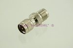 Coax Adapter Mini - UHF Male to TNC Female - by W5SWL ®