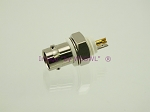 W5SWL Brand Premium Series BNC Female Isolated Bulkhead Mount Coax Connector