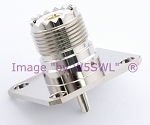 Coax Adapter UHF Female SO-239 Quick Connector for Wattmeter by W5SWL