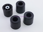Set of 4 - Round Rubber Feet 1.375