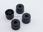 Set of 4 - Round Rubber Feet .980