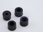 Set of 4 - Round Rubber Feet .419