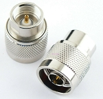 N Male Connector End for RF Adapter Kits Teflon Gold Nickel