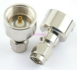 SMA Male Connector End for RF Adapter Kits Teflon Gold Nickel