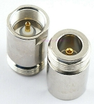 N Female Connector End for RF Adapter Kits Teflon Gold Nickel