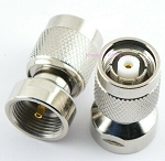 RP TNC Male Connector End for RF Adapter Kits Teflon Gold Nickel