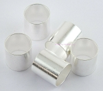 Silver LMR-600 Size Connector Crimp Ferrule 5-Pack
