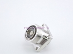 7/16 Din Female to N Female Chassis Mount Adapter - by W5SWL ®