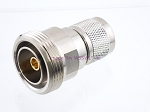 7/16 Din Female to N Male RF Connector Adapter - by W5SWL ®