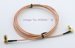 SMA Right Angle Male 3ft RG-316 Test Jumper Patch Coax Cable