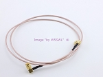 SMA Right Angle Male 3ft RG-316 Test Jumper Patch Coax Cable - Sold by W5SWL