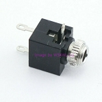 3.5mm Mono Shorting Phone Plug Jack 5pcs