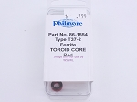 Philmore 86-1554 Type T37-2, Ferrite Toroid Core Red (bin83)