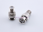 OPEK AT-7050 BNC Male Type F Female Connector Adapter - Sold by W5SWL