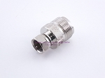 UHF Female to F Type Male Adapter - Sold by W5SWL