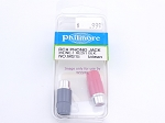 Philmore MS15 RCA Phono Jack Inline-1 Red/1 Blk. (bin43)