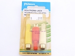 Philmore MS172 RCA Phono Jack Red/White/Yellow-3Pk (bin44)