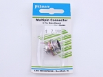 Philmore P605C Multipin Connector 3 Pin Male-Keyed (bin108)