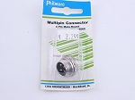 Philmore P606C Multipin Connector 4 Pin Male-Keyed (bin108)