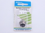Philmore P612C Multipin Connector 5 Pin Male-Keyed (bin108)