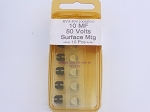 10 MF 50 Volts Surface Mount Capacitor 10-Pack (bin147)