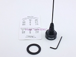 UHF Black Heavy Duty Ham Radio Antenna for NMO Mounting
