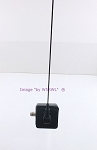 Tram 1190 2 Meter VHF Ham Onglass Antenna 17Ft Coax with PL-259