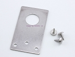 Tram 1255-F NMO Stainless Steel Flat Bracket Antenna Mount