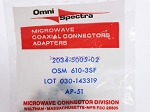 Omni Spectra 2034-5005-02 Bulkhead Feed Through