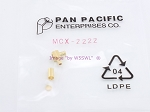 Pan Pacific MCX-2222 Crimp MCX 90 Degree RA Plug for RG-316