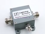 Teletronics Surge Lightning Arrester 2.4GHz 1/4 Wave Low Loss Device NEW