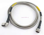 Flexible Armored N Male to N RA Male 5Ft Radio Test Jumper Patch Cable