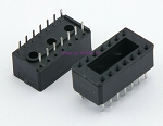 SAE Quality 14 Pin DIP IC Sockets Set of TWO New