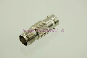 TNC Female to BNC Female Coax Adapter Connector - by W5SWL
