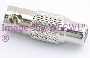 W5SWL Brand Premium Series BNC Female to RCA Female Coax Adapter Connector 2-Pack