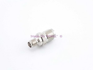 Handie Talkie SMA Female to Mini-UHF Antenna Coax Adapter for China HTs & Others - by W5SWL
