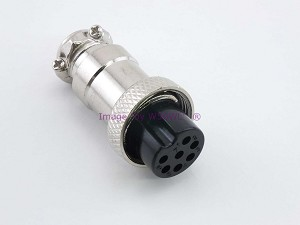 7 Pin Female Metal Microphone Plug
