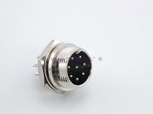 8 Pin Male Microphone Panel Jack