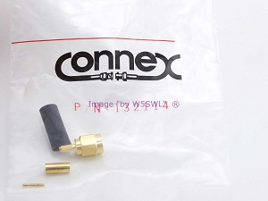 Amphenol Connex 132114 Gold SMA Male 12.4 GHz