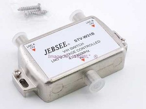 Jebsee STV-W31B Satellite TV TVRO 13/17 Volt Switch